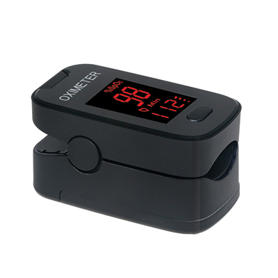 Battery operated Oximeter_Black