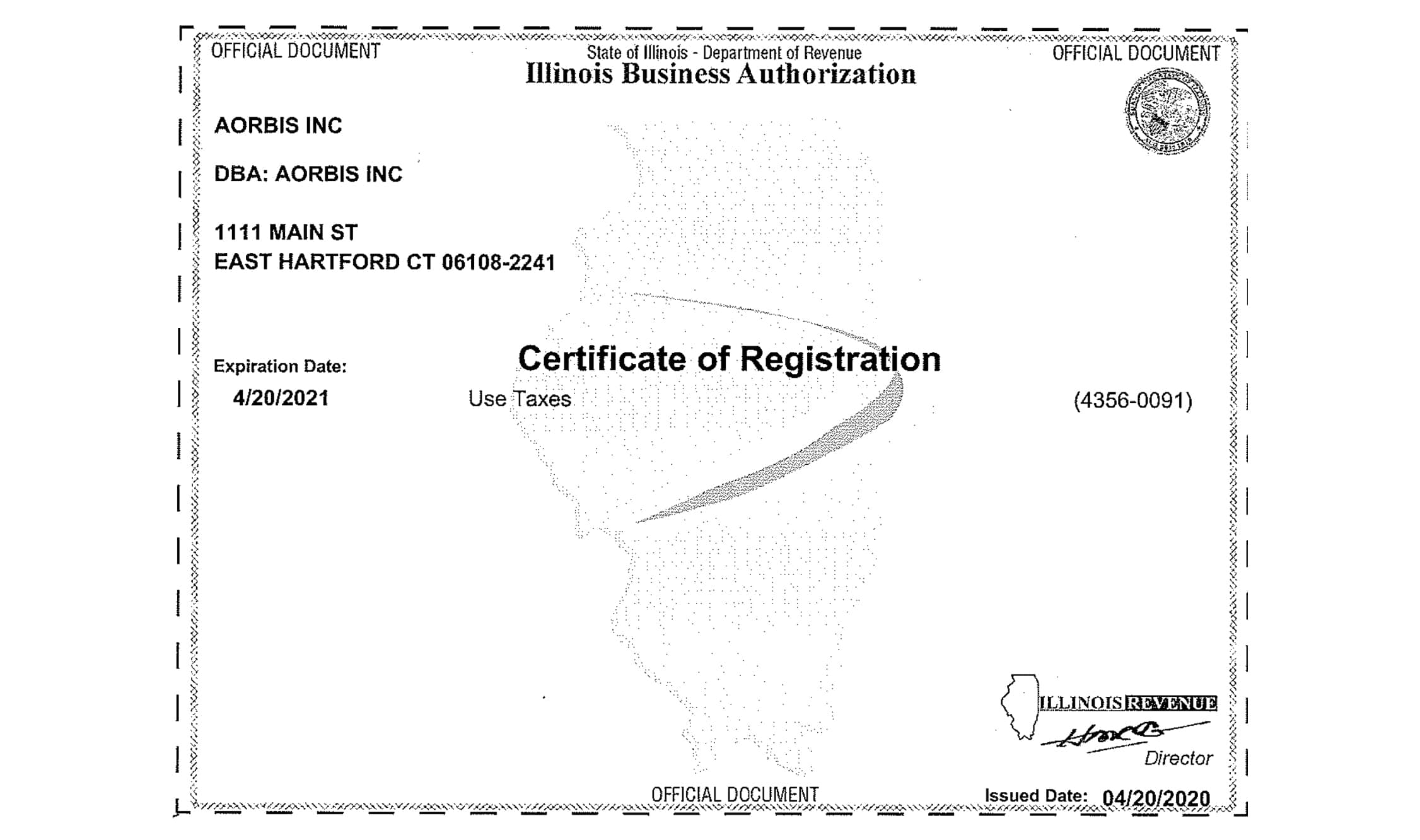 Illinois - Permit