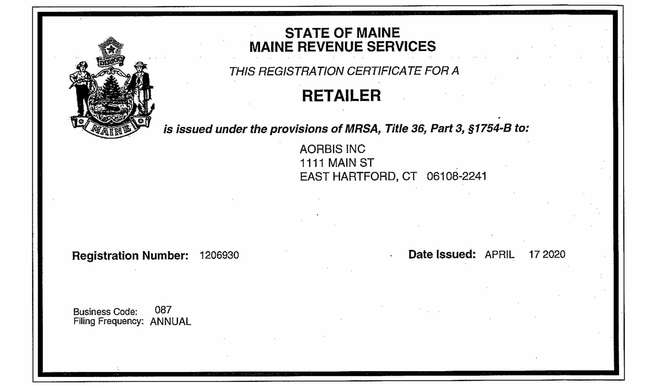 Maine---Permit