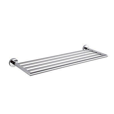 24in Towel Bar with Rack Stylish TDJ001