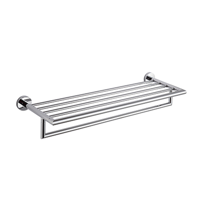 24in Towel Bar with Rack Stylish TDK001